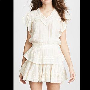 New Love Shack Fancy chelsea dress Size XS
